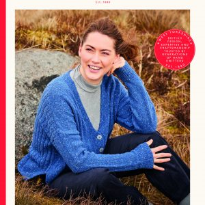 Sirdar Haworth Tweed DK Ladies Cardigan Knitting Pattern 10147 Loza Wool
