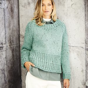 Ladies Sweater Super Chunky Pattern Stylecraft 9808