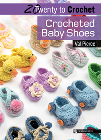 Crocheted Baby Shoes patterns - Twenty to Make - Loza Wool Dublin