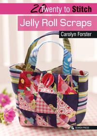 Jelly Roll Scraps - sewing patterns - Twenty to Make - Loza Wool Dublin