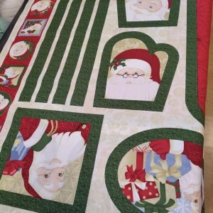 Christmas Fabric Panel Loza Wool Dublin