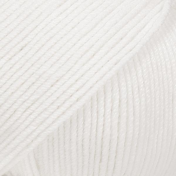 Drops Baby Merino 01 White Loza Wool Dublin
