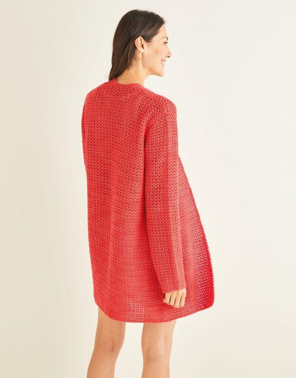 Ladies Crochet Cardigan Pattern Sirdar 10249