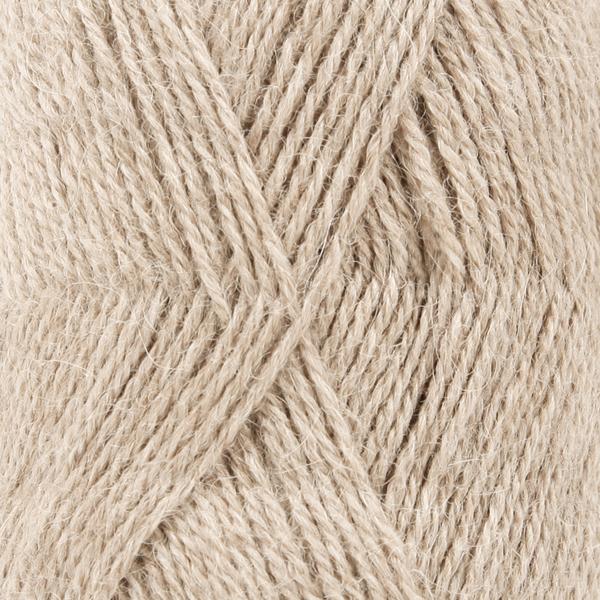 Drops Alpaca 01 Light Nougat Loza Wool Dublin