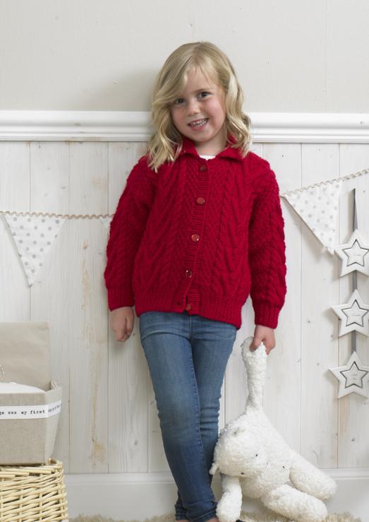 Stylecraft 4174 Childrens Aran Loza Wool Dublin