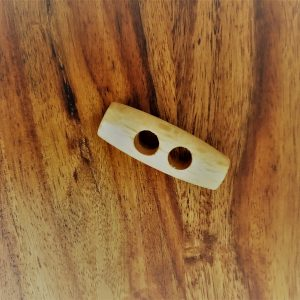 Wooden Peg Button Loza Wool Dublin
