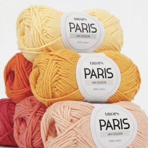 Drops Paris Cotton Aran Loza Wool Dublin