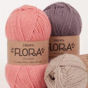 Drops Flora Loza Wool Dublin