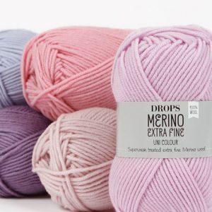 Drops Merino Extra Fine Loza Wool Dublin