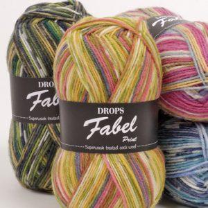 Drops Fabel Loza Wool Dublin