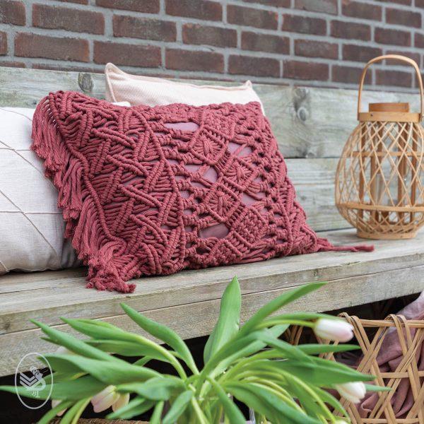 Durable Rope Macrame Cushion
