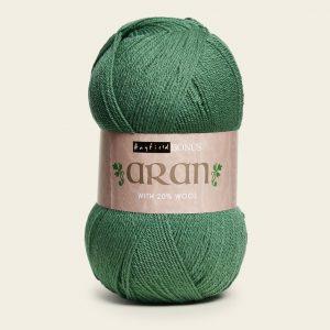 Hayfield Bonus Aran 400g Sage Loza Wool Dublin