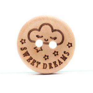 Knoop Sweet Dreams Buttons Loza Wool Dublin