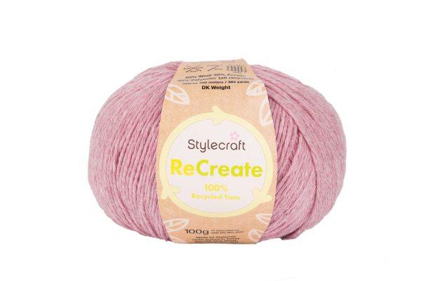 Stylecraft ReCreate DK Loza Wool Dublin