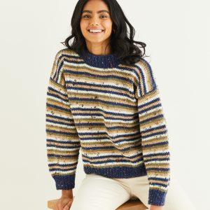 Hayfield Bonus Chunky Tweed Loza Wool Dublin