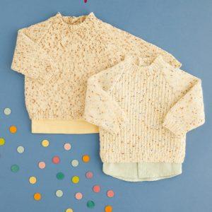 Hayfield 5443 Baby Sweater Pattern